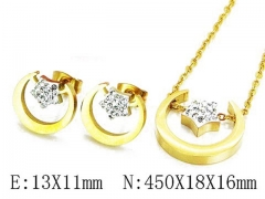 HY Wholesale Jewelry Zircon / Crystal Sets-HY25S0670HKX