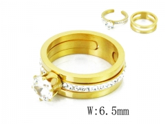 HY Wholesale 316L Stainless Steel Rings-HY19R0024HHD