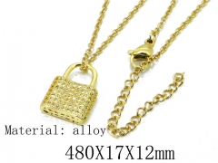 HY Wholesale 316L Stainless Steel Necklace-HY54N0364NL