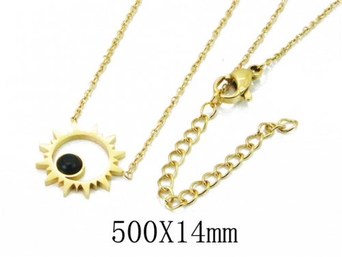 HY Wholesale 316L Stainless Steel Necklace-HY20N0087NG