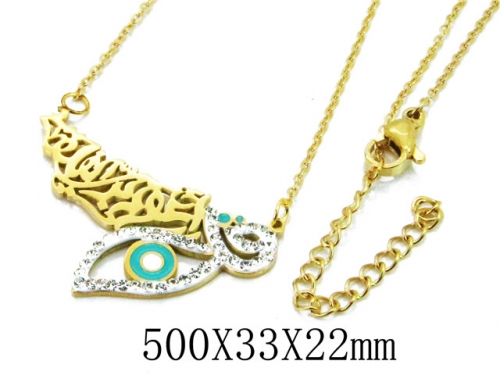HY Wholesale 316L Stainless Steel Necklace-HY20N0105HFF