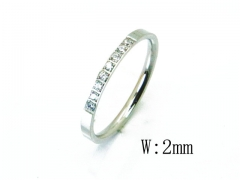 HY Wholesale 316L Stainless Steel Rings-HY59R0031MQ