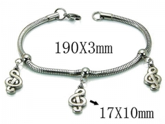 HY Wholesale 316L Stainless Steel Bracelets-HY39B0405NLZ