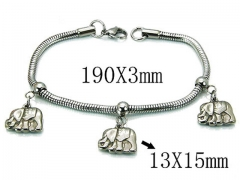 HY Wholesale 316L Stainless Steel Bracelets-HY39B0402NLY