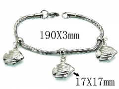 HY Wholesale 316L Stainless Steel Bracelets-HY39B0411NLV