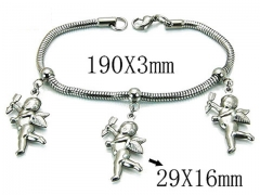 HY Wholesale 316L Stainless Steel Bracelets-HY39B0410NLD