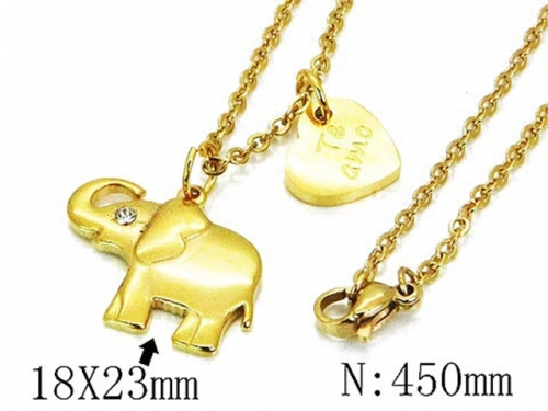 HY Wholesale 316L Stainless Steel Necklace-HY12N0505ME