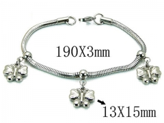HY Wholesale 316L Stainless Steel Bracelets-HY39B0404NLF