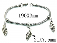 HY Wholesale 316L Stainless Steel Bracelets-HY39B0407NLF