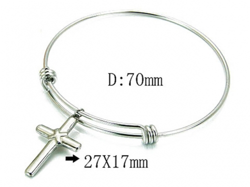 HY Wholesale 316L Stainless Steel Bangle-HY59B0744LZ