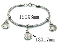 HY Wholesale 316L Stainless Steel Bracelets-HY39B0401NLY